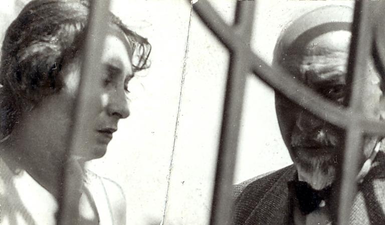 Marta Abba e Luigi Pirandello