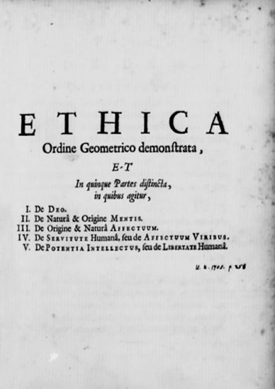 Spinoza_Ethica