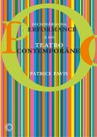 O Dicionário da Performance e do Teatro Contemporâneo